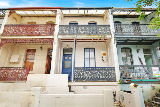 Victorian Terrace at 50 Campbell Street, Wollongong