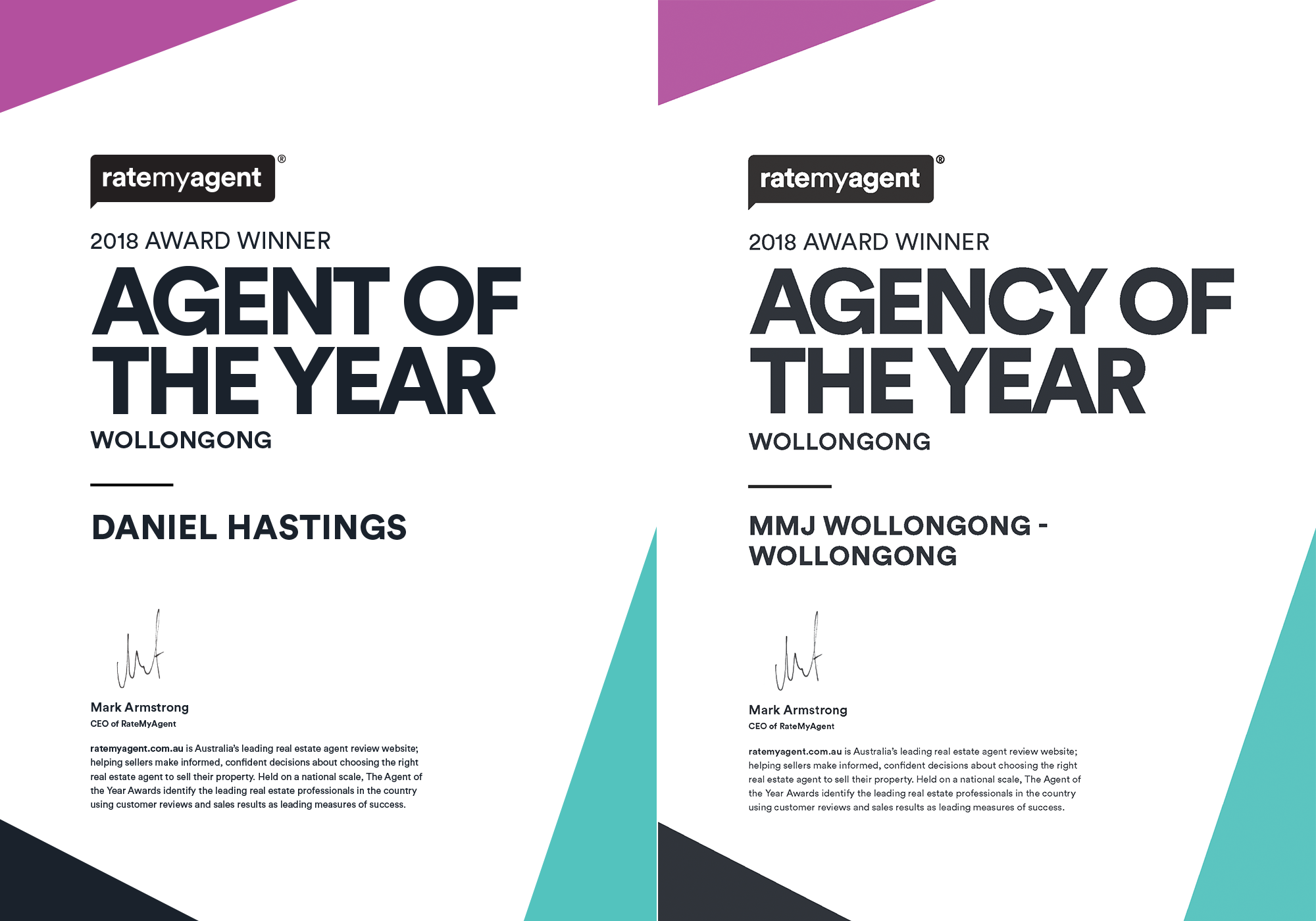 MMJ Awarded Agency of the Year for the second consecutive year.