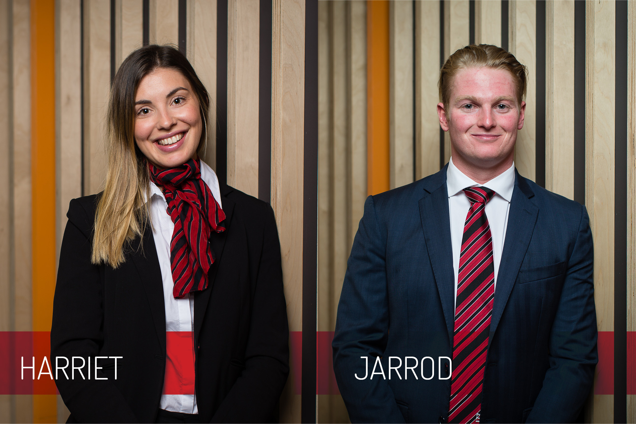 Harriet & Jarrod named as members of Property Council Committee