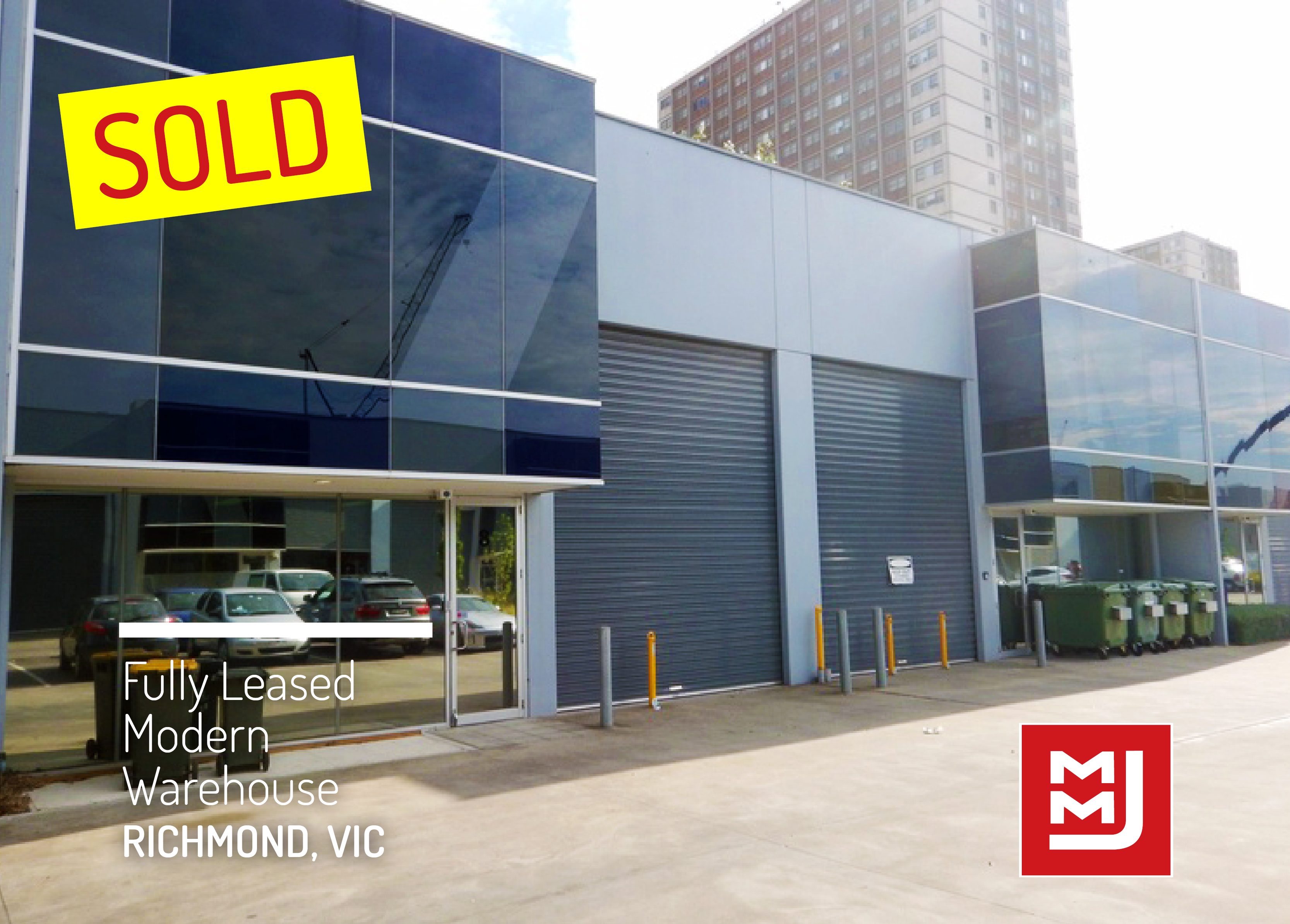 #SOLD - Savvy investor snaps up Richmond warehouse in just 7 days.