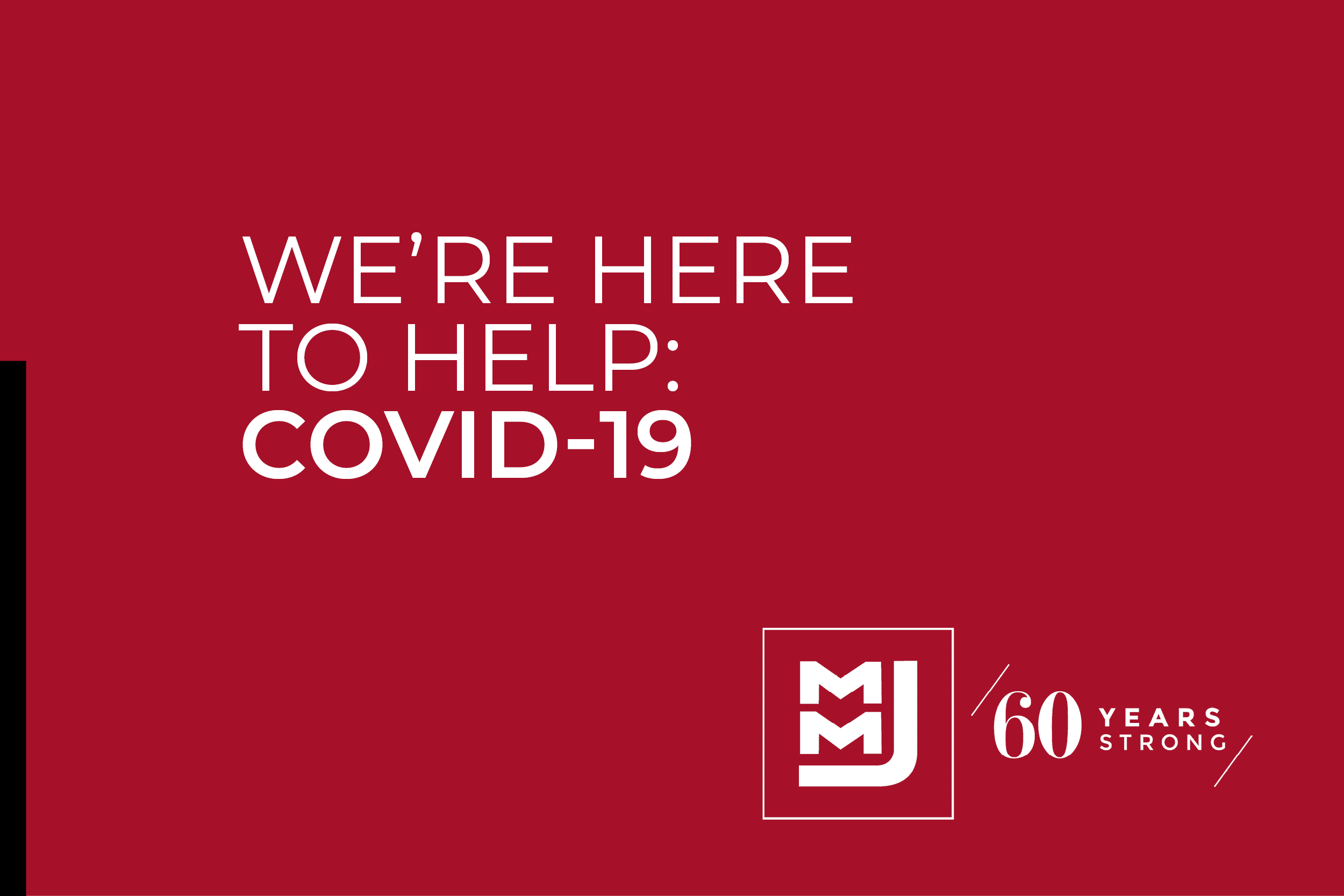 Partnering with you during COVID-19